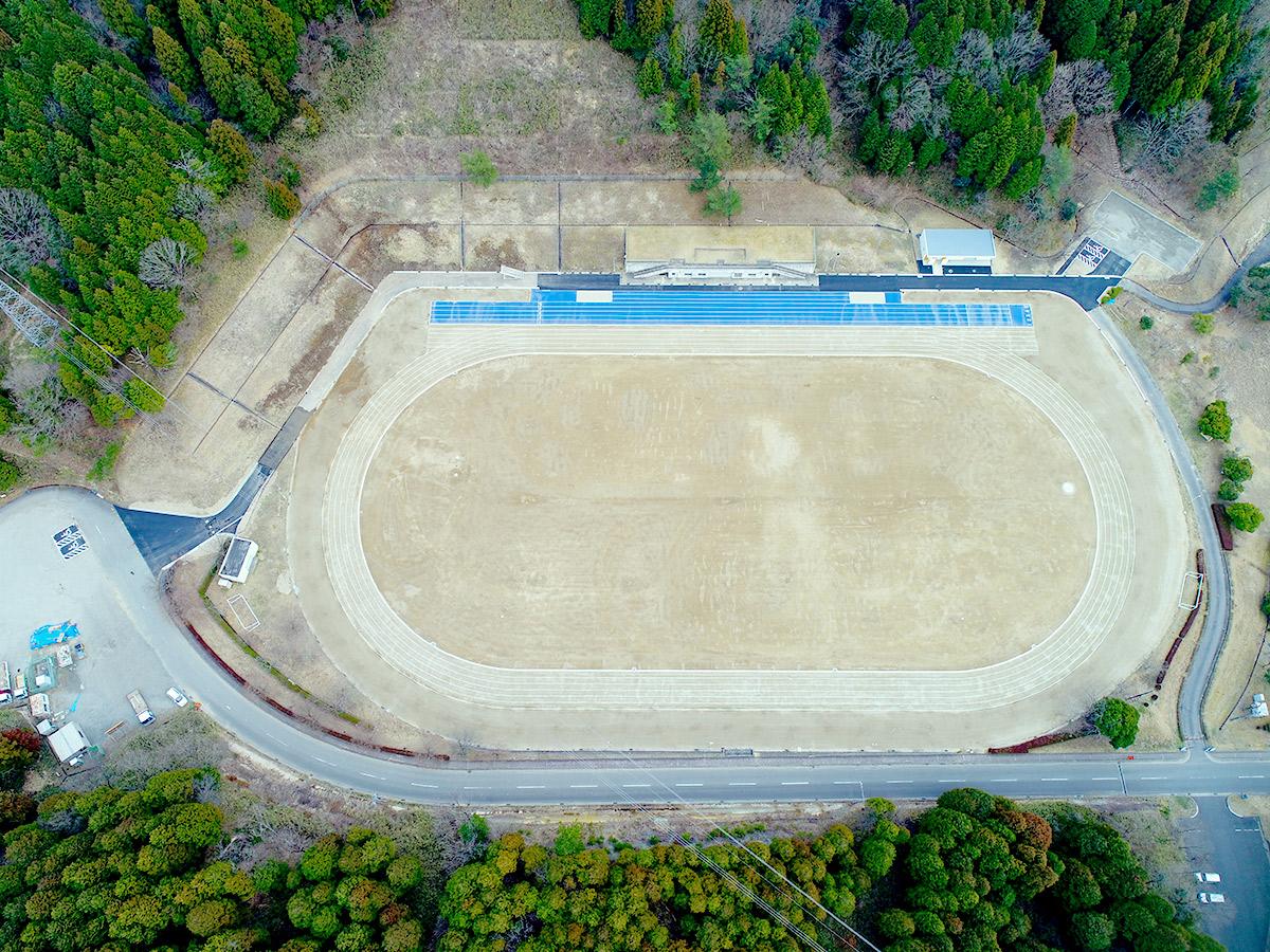 瑞浪市陸上競技場グラウンド改修工事|アフター