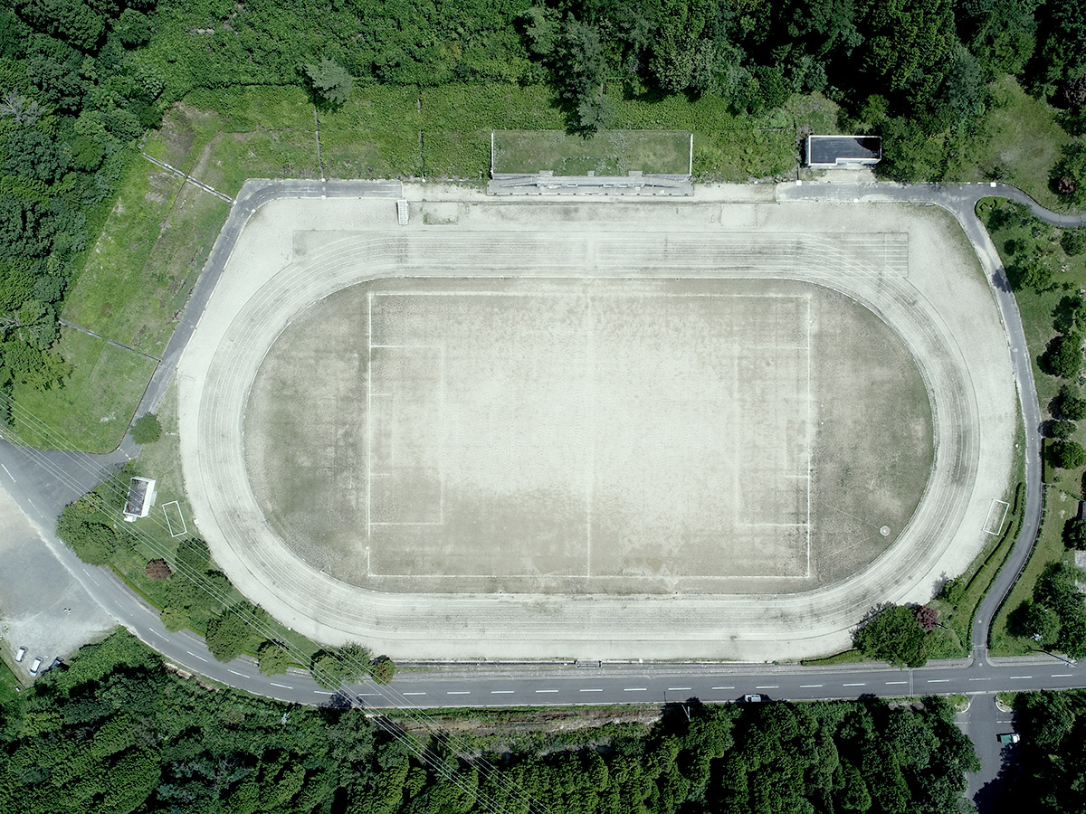 瑞浪市陸上競技場グラウンド改修工事|ビフォア
