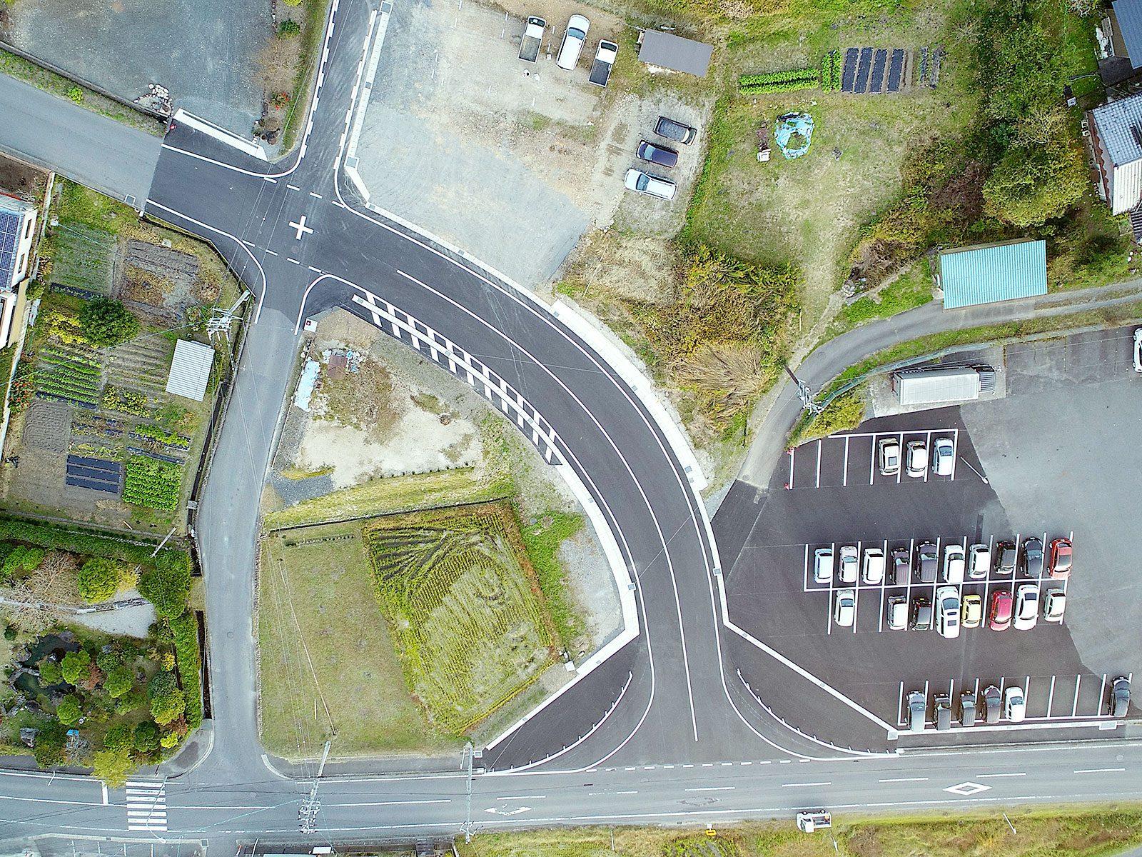 日吉町本郷地内道路新設工事|アフター