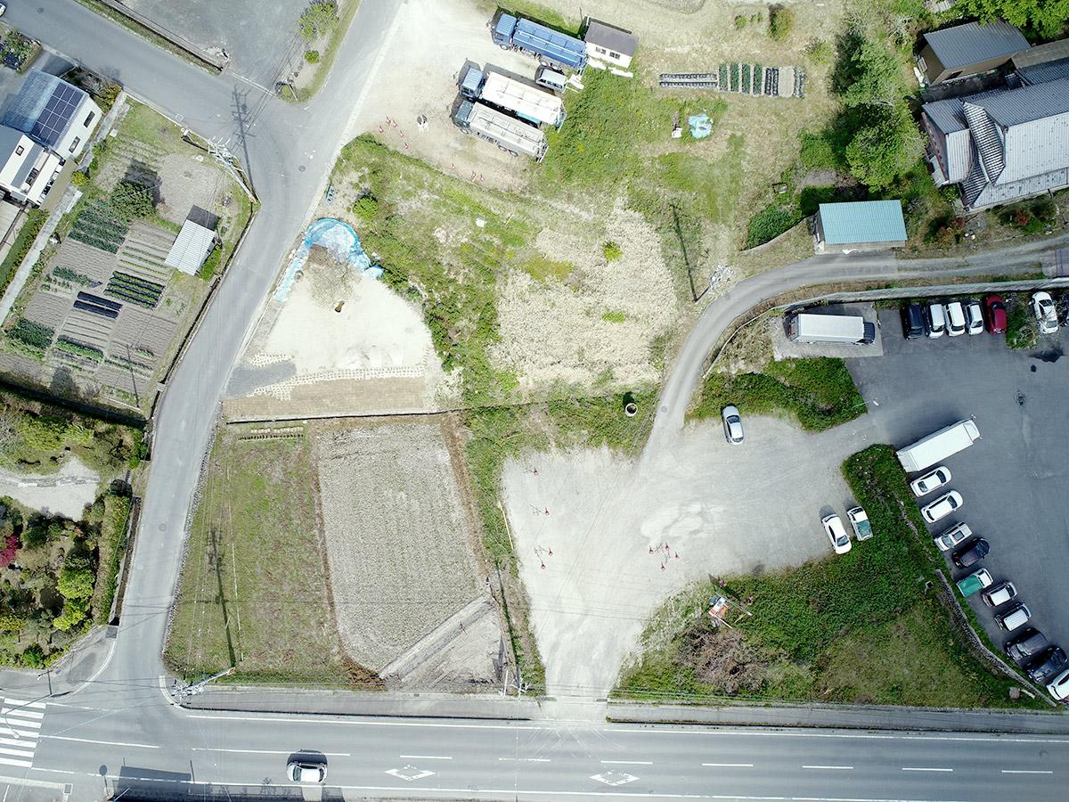日吉町本郷地内道路新設工事|ビフォア