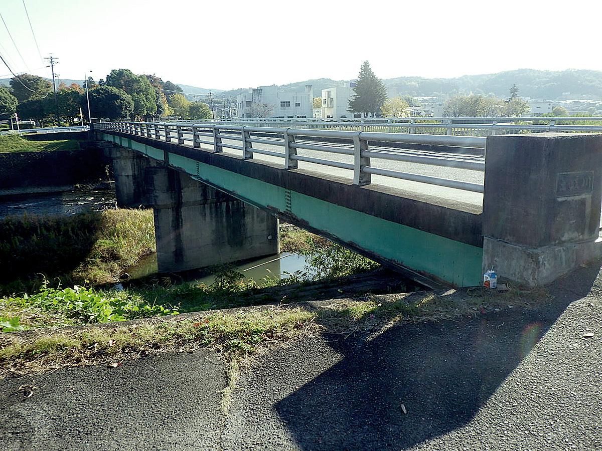 松ヶ瀬橋拡幅工事着工前